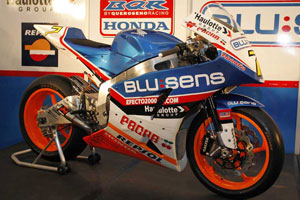 BQR Honda's Moto2 bike was launched in Spain