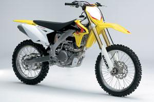 The 2010 model Suzuki RM-Z450 is revamped