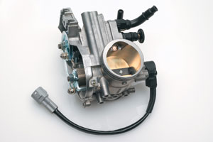 The RM-Z250 is the first in its class to feature EFI