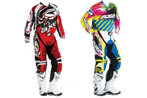 AXO's 2010 gear is available in retro (right) too