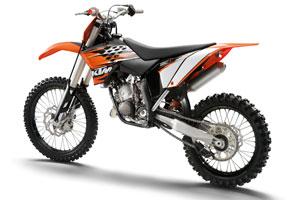 The 2010 KTM 150 SX Motocross model