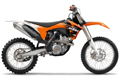 2011 KTM off-road model range