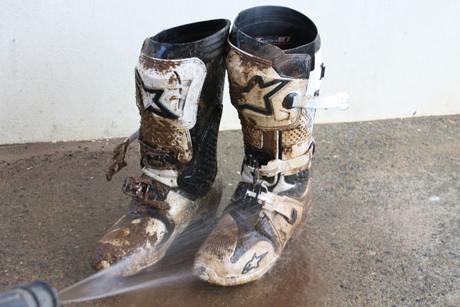 How To Cleaning Motocross Boots