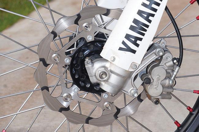 GYTR releases 270mm Oversized Front Brake Kit for Yamahas