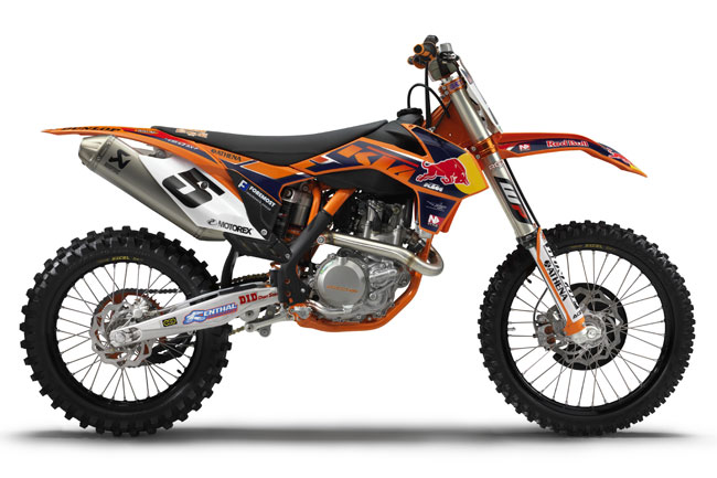 KTM Australia confirms release of 2013 450 SX-F Factory Edition