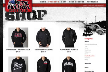 Metal Mulisha Australia officially opens online store