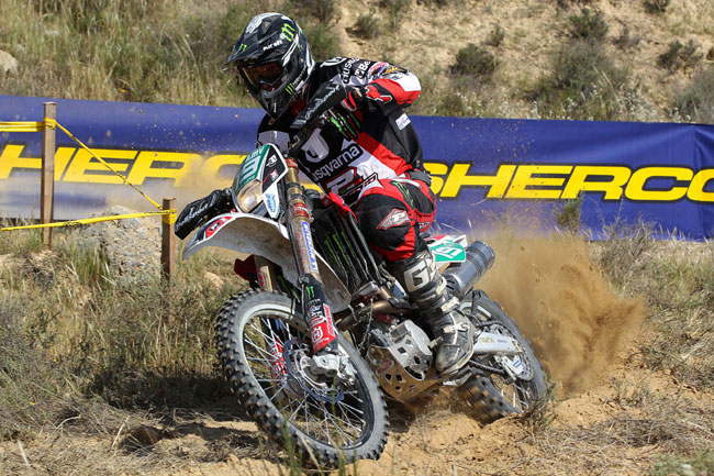 Australia's Matt Phillips currently sits on top of the Junior class EWC standings.
