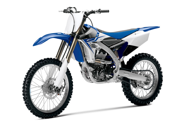 Aside from the all-new look, the 2014 YZ450F features updates throughout.