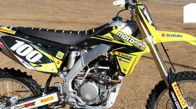 Project Moto: 2013 Suzuki RM-Z250 update three