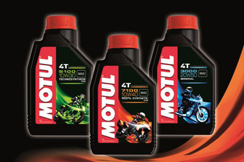 Motul launches technologically-advanced motorcycle lubricants range