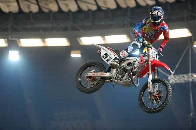 Justin Barcia won the overall at Genova in Italy.
