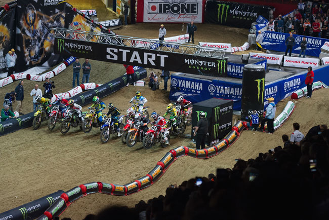 Justin Barcia won his second King of Bercy title in France.
