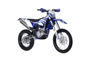 Bike: 2015 Sherco Six Days 300 SE-R and 300 SEF-R