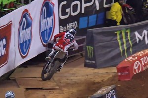 Replay: Roczen's huge Atlanta practice crash