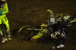Replay: Stewart's Monster Energy Cup injury