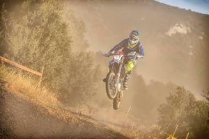 Milner the first member of MA enduro ambassador program