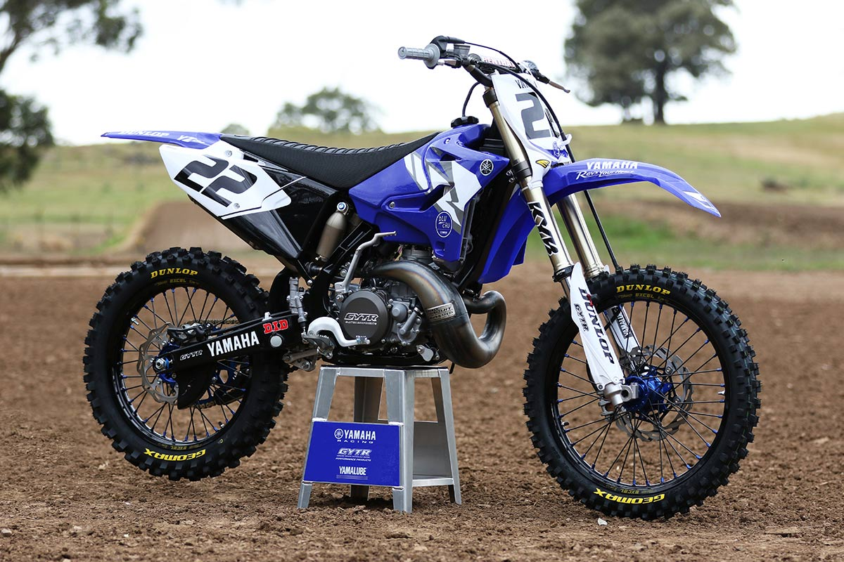 ride chad reed inspired 2017 yamaha yz250. Black Bedroom Furniture Sets. Home Design Ideas
