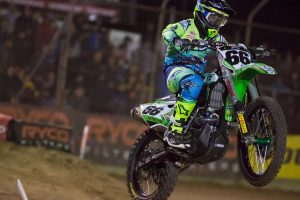 Hahn soars to another podium in Melbourne Supercross