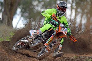 Sights set on AORC championship for KTM's Milner