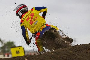 MX2 red plate-holder Todd sticking to game-plan at Appin
