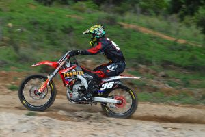 Top 10 for Webster in MX2 as injury sidelines Wightman