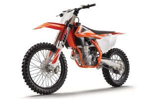 Bike: 2018 KTM SX-F and SX range