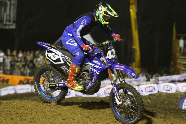 Podium breakthrough for Evans as supercross experience builds