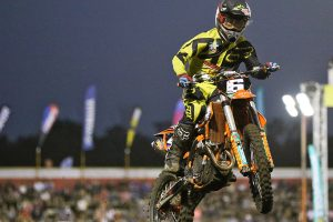 Wilson knocking on the door of podium in SX2 class return