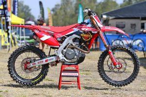 Ride: 2017 Penrite Honda Racing CRF450R