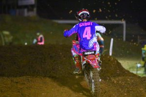 First podium in sight for standout SX1 rookie Clout