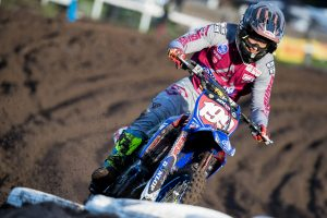 Race one fall results in tweaked shoulder for Crawford
