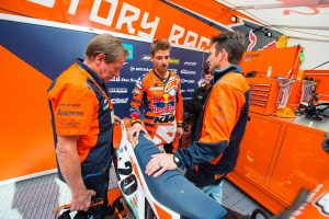 Alleged positive B sample prompts KTM to terminate Tickle contract