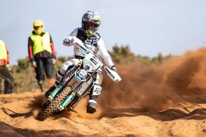 Dominant first Hattah victory for Husqvarna's Sanders