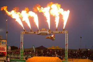 Complete Parts Kawasaki Racing's Owen soars to Port Adelaide supercross podium