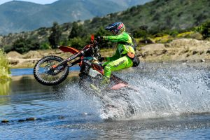Milner overwhelmed by ISDE double victory in Chile
