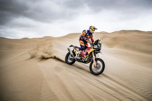 Price takes control of Dakar Rally lead on stage eight