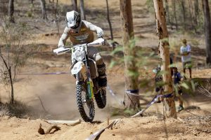 Double AORC E3 win in Toowoomba for Husqvarna's Sanders