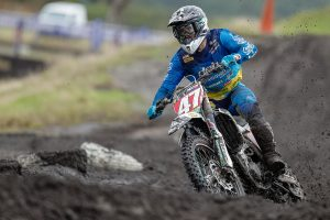 Damaged subframe forces Waters into early moto one retirement