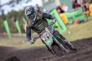 Top five for Empire Kawasaki guest Bopping at Wonthaggi MX Nationals