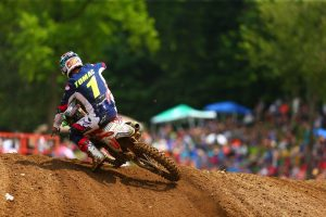 Third Pro Motocross overall of the season for Tomac at RedBud