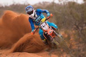 Snodgrass 'at home' in E1 category after Broken Hill AORC win