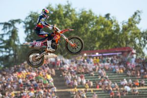 Prado on the cusp of successfully defending MX2 World Championship
