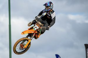 Duffy learned from Blose in maiden supercross main event