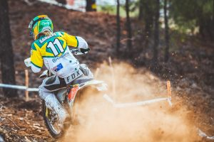 Team Australia leads opening day of Portugal's ISDE