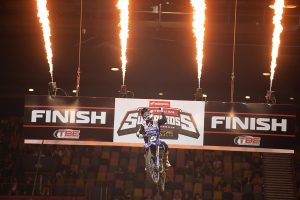 Dunlop Dominates Supercross Opener