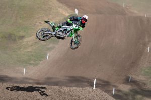 Potential shines through for Empire Kawasaki's Long at Gympie MX Nationals