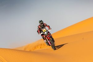 Dakar lead strengthened on day six for Brabec