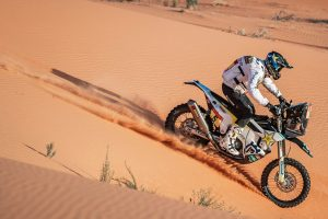 Quintanilla emerges victorious on penultimate Dakar stage