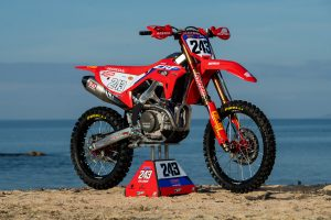 Team HRC uncovers all-new CRF450RW in MXGP