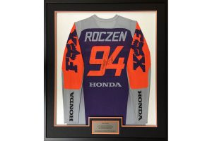 Supercross jerseys on offer in Australian bushfire relief auction